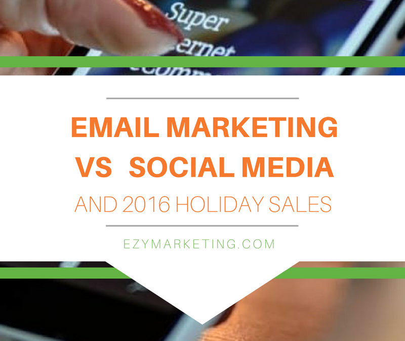 Email vs Social on 2016 Holiday Sales