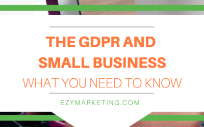 GDPR for Small Business – What You Need to Know in the USA