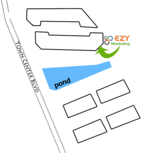 Map to EZY Marketing Office