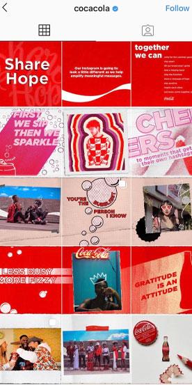 Coco Cola Instagram aesthetic