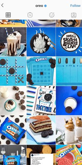 Oreo Instagram Aesthetic